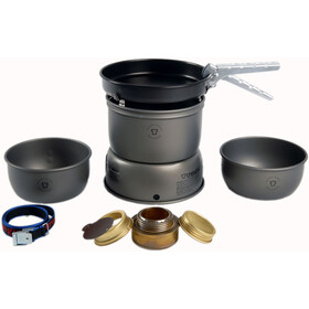 Trangia Réchaud 27-3 Ultralight HA Alu + casserole antiadhésive